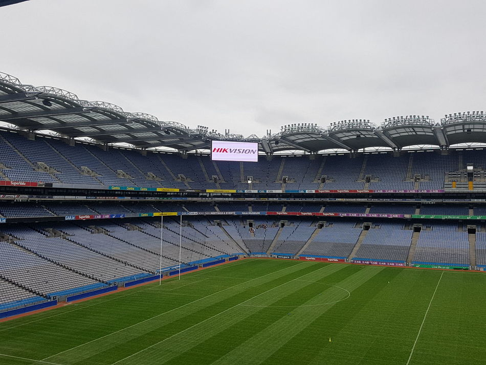 Croke park stadium dublin the home of GAA Stadium Outdoors Soccer No People Sports Team Day Sports Venue Soccer Field Playing Field Gaa CrokePark Samsung Galaxy S7 Dublin, Ireland Ireland🍀