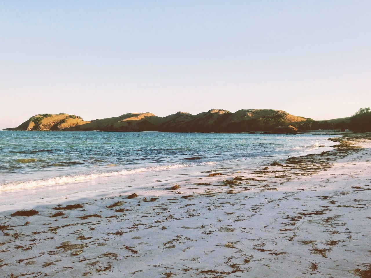 Beach Sea Sand Outdoors Nature Clear Sky Beauty In Nature Scenics Horizon Over Water Landscape The Great Outdoors - 2017 EyeEm Awards