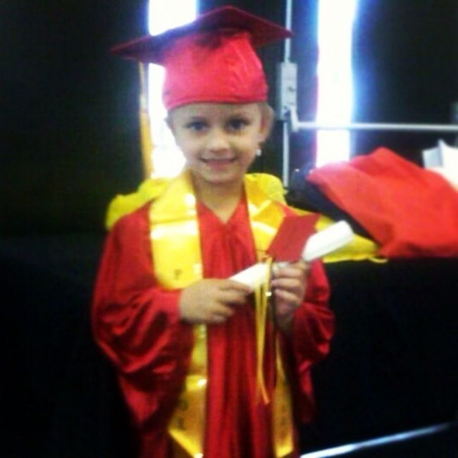 My God Daughter Graduated Pre-school Today!