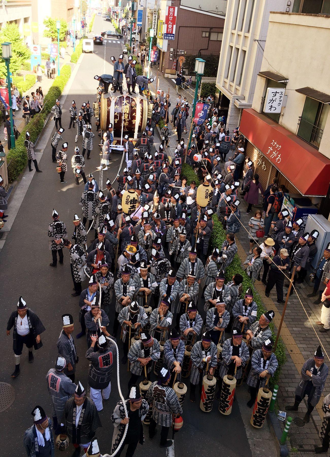 太鼓 お囃子 くらやみ祭り 大國魂神社 June 巡行 TheOldShrine Shrine Festival Japanese Culture Japan Tokyo,Japan Enjoying Life Holiday Happy