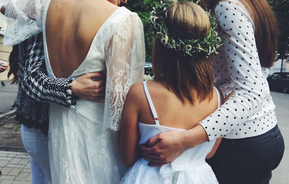 Beautiful stock photos of wedding, Bride, Casual Clothing, Day, Focus On Foreground
