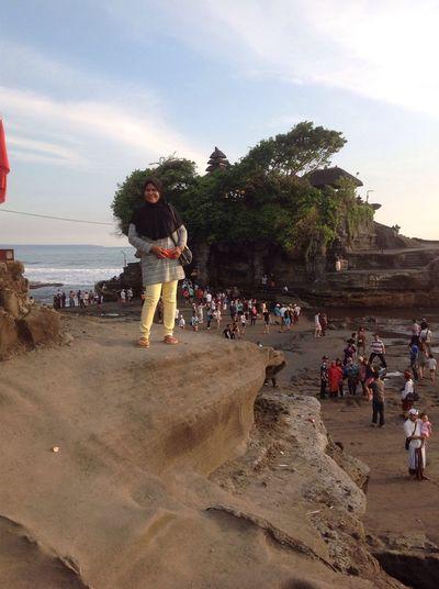 Sore hari yg indah di Bali Enjoying The Sun