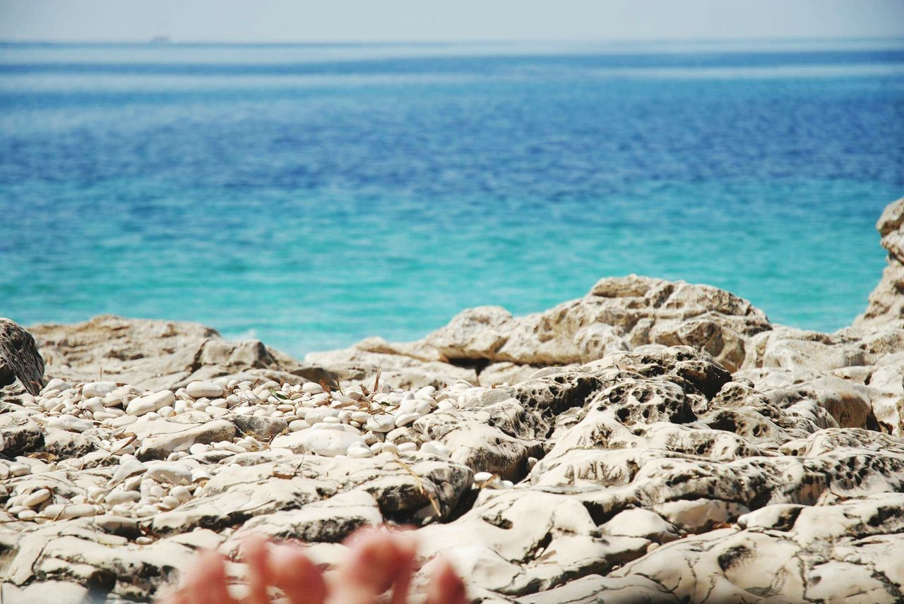 Beach Sea Sand Barefoot Relaxation Horizon Over Water Tranquil Scene Outdoors Beauty In Nature Lifestyles Nature Inspirational EyeEmNewHere Live For The Story Photography Vacations Visualsoflife Adriatic Adriatic Coast Seascape Summer Sunlight Lagoon Landscape Landscape_photography