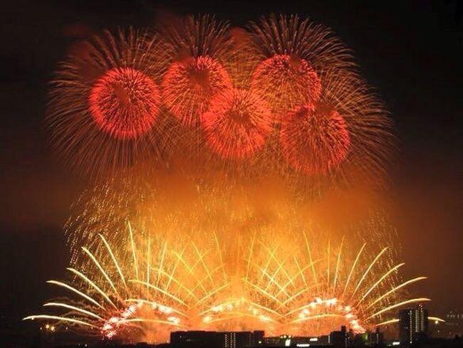 Fireworks 花火 蒲郡 蒲郡花火大会 Gamagori Japan