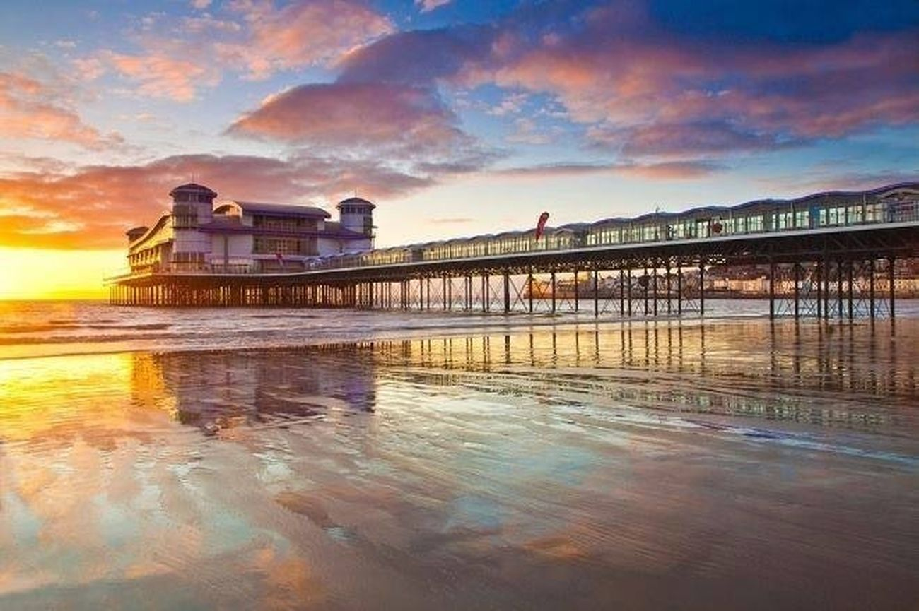 Gorgeous Sunset over Weston Pier :)