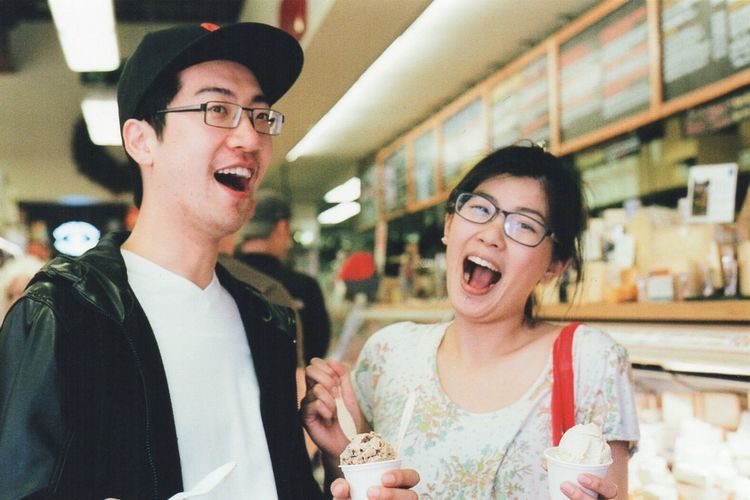 Ice cream! @ Bi-rite Market San Francisco March 2015 (Fujifilm Superia 400)