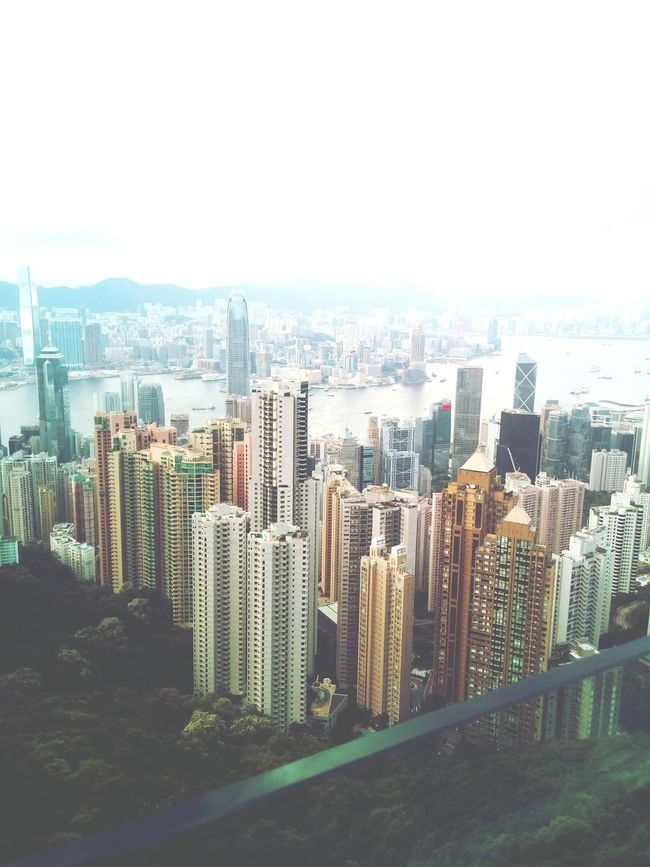 Victoria Peak, Hongkong Skyscraper Travel Destinations Urban Skyline First Eyeem Photo