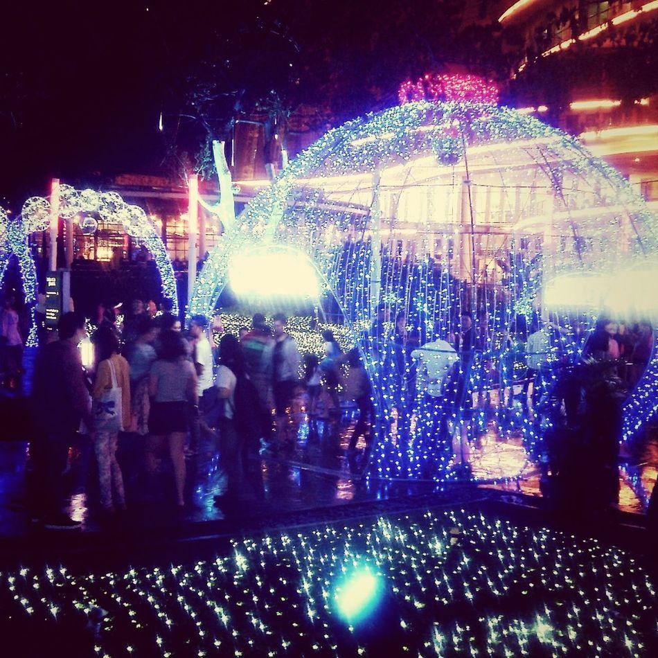 Festivaloflights Weekend Cetralpark Jakarta Indonesia