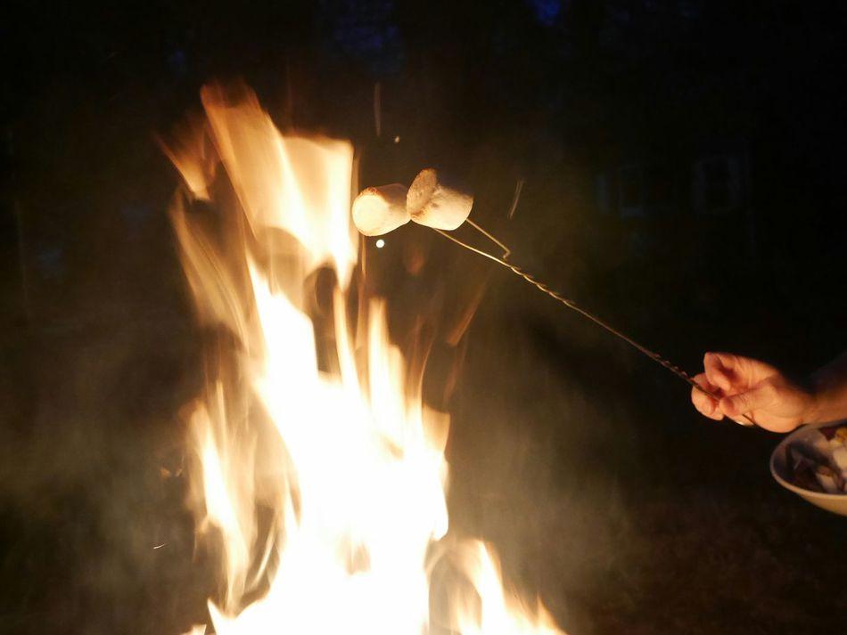 Roasting marshmallows. Marshmallow Roasting Marshmallow Heating Marshmallows Flames & Fire Camping Fun Outdoors Hot Flamed Camping Fire Burning Firepit Firepits Enjoying Life Fire Glow Dark And Fire Flames Fire Fuego 🔥 Fuego The Essence Of Summer