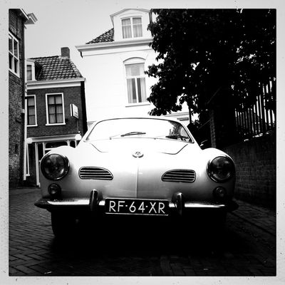 blackandwhite in Dokkum by Michelle Hamstra
