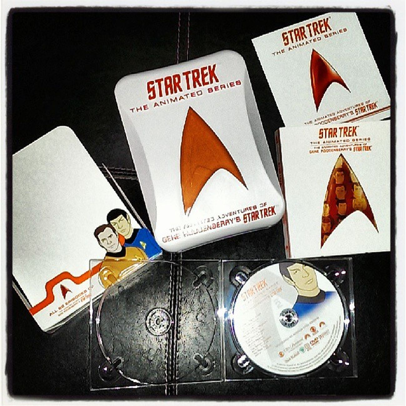 Omg! I found my favorite Cartoon when I was a kid :) Startrek Animated Series Loveit brings back memories of waking up early Saturday mornings... Lol