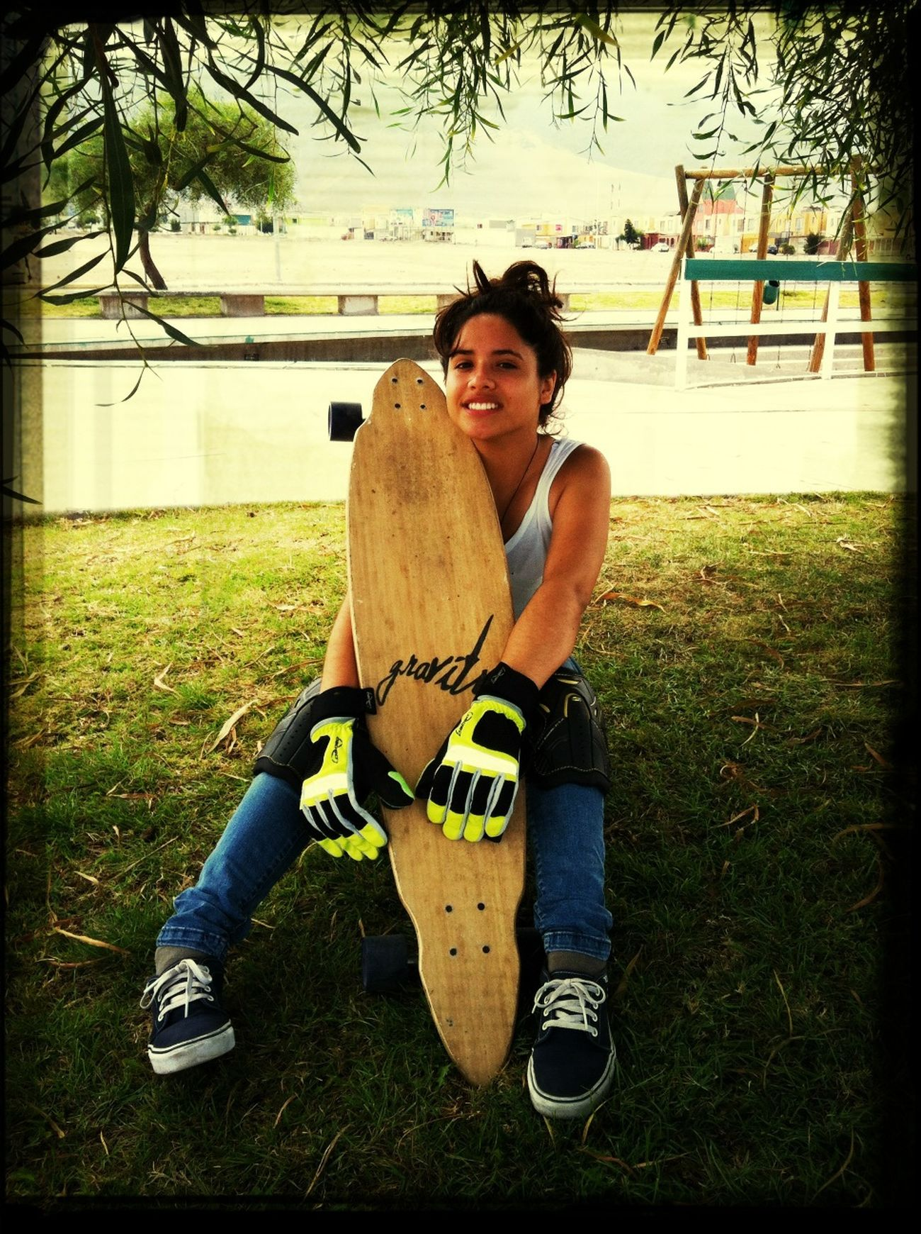 Longboard Con Paula Garcia