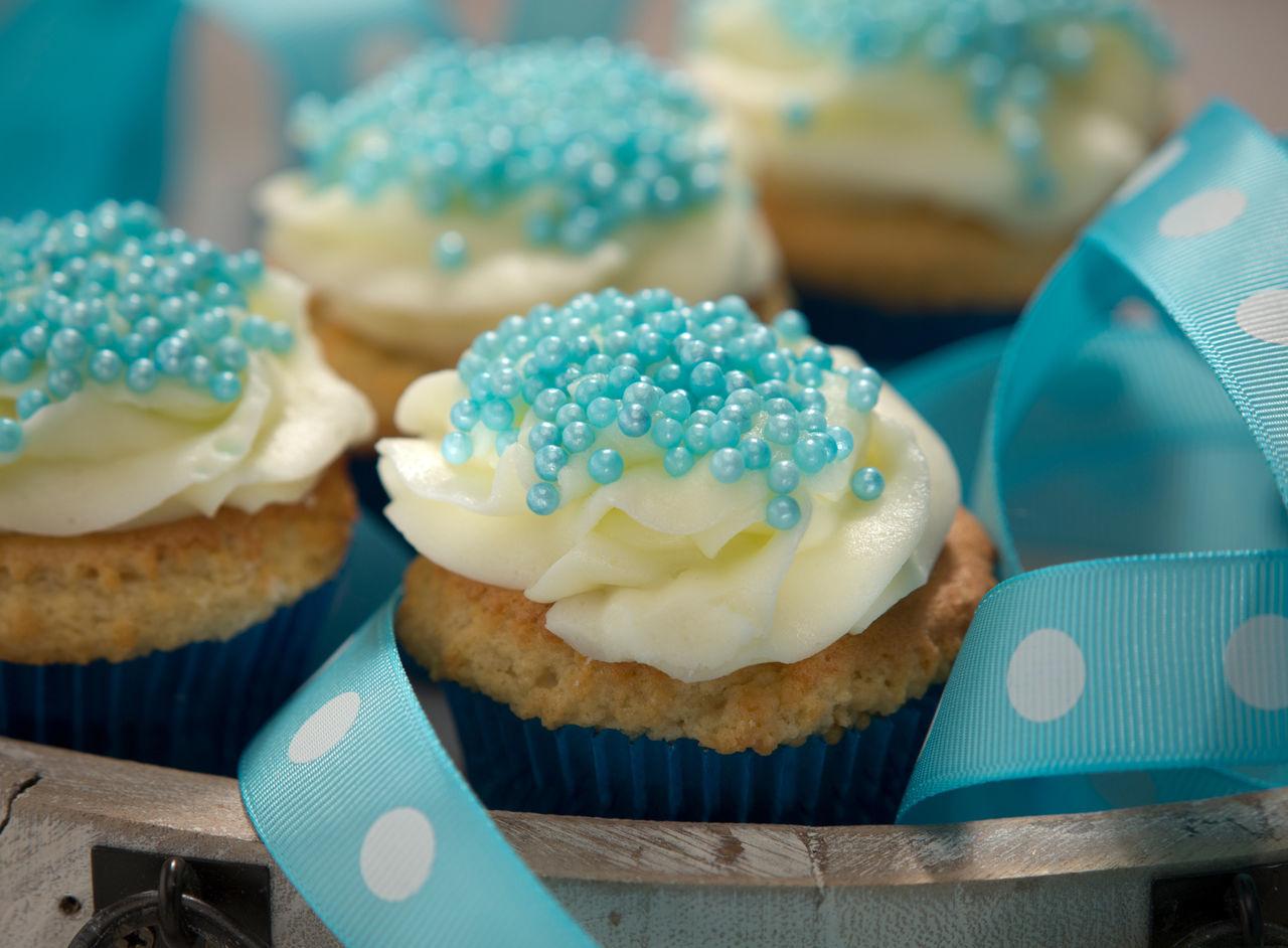 Beautiful stock photos of cupcake, Blue, Close-Up, Cup Cake, Food
