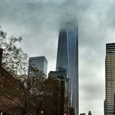 Lost in the clouds... Nycprimeshot Nyclovesnyc Icapture_nyc Nycskyline  Grammaster Manhattan WTC WorldTradeCenter