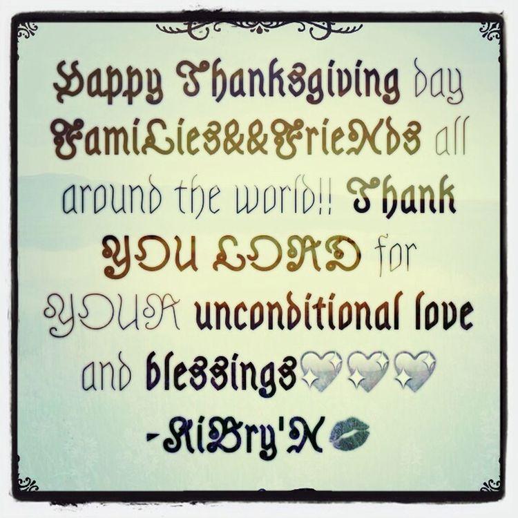 Holidays Thanksgiving Lyph