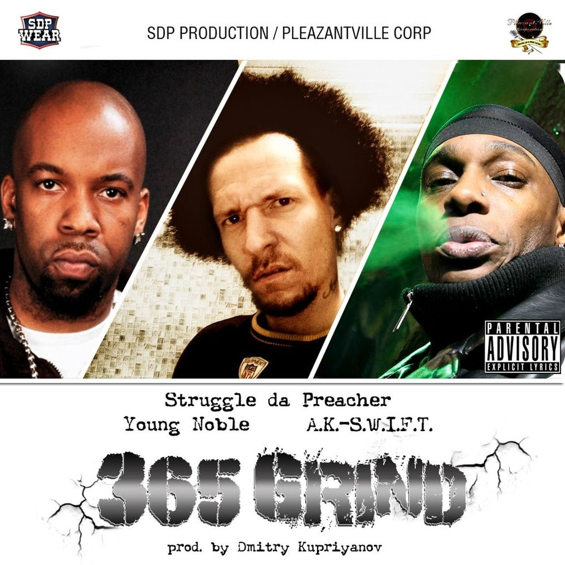 my hottest single 365 Grind ft legendary Young Noble (Outlawz) and AK SWIFT Rap&hiphop Outlawz Single Hardcore