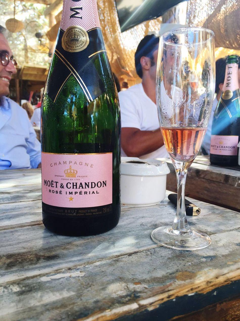 Wine Moments Drink Shampain Moet & Chandon Formentera Island