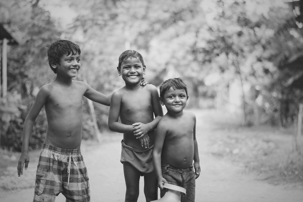 Black And White Bonding Boys Brother Childhood Elementary Age EyeEm Gallery Eyeem Rural America Friends Friendship Fun Happiness In India Lifestyles Portrait Rural Lifestyle Rural Scenes Shirtless Sibling Smiling Togetherness