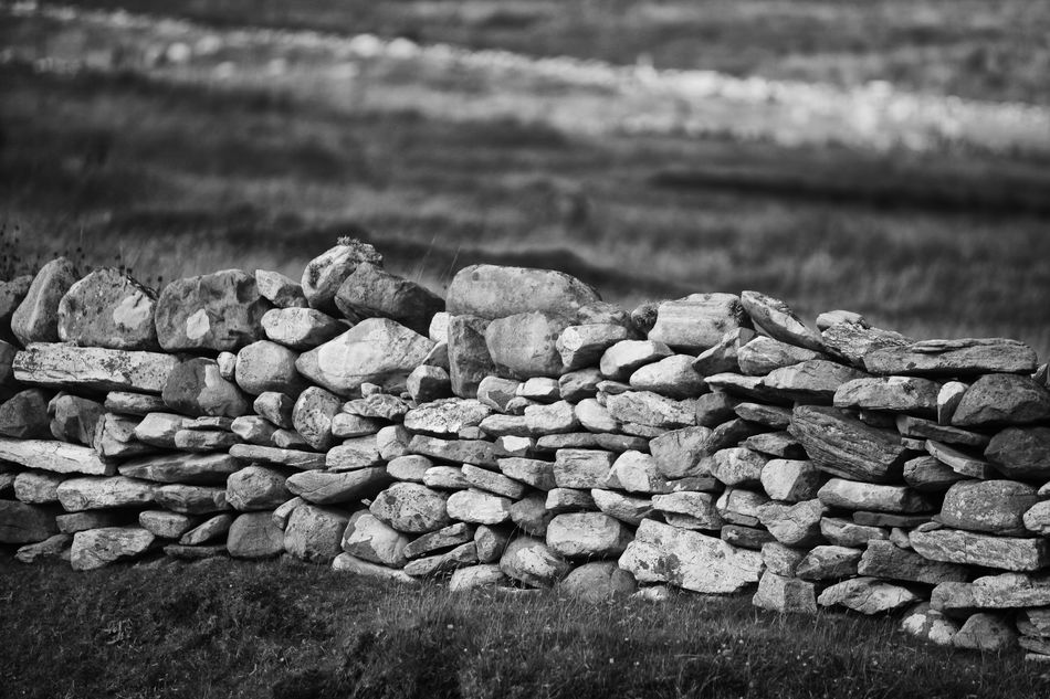 Achill Boundary Close-up County Mayo Day Dry Stone Wall Focus On Foreground Full Frame Ireland Large Group Of Objects Mayo Nature No People Pebble Rock - Object Shore Stone Stone Material Tourism Traditional Tranquil Scene Tranquility Vacations Wave Wild Atlantic Way