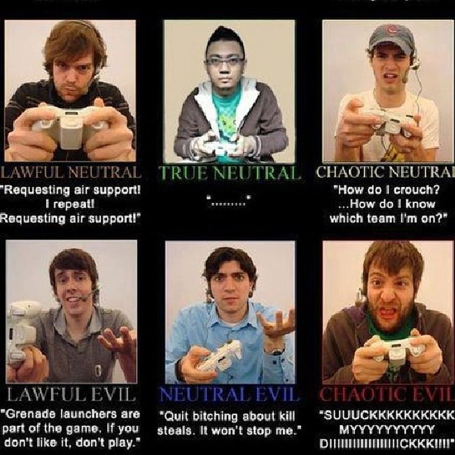 True Neutral? hahaha! Xbox360 Blackops2 Attitude Talksh !t