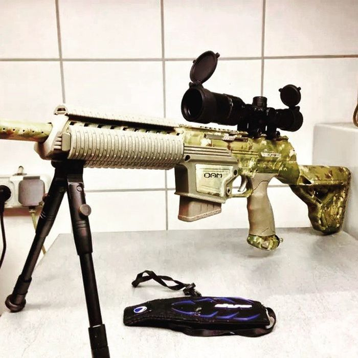 Tactical Dyepaintball Dyedam Dyetactical Dyecam Scope WoodLand Boomstick Sniper Sniperrifle @dyepaintball