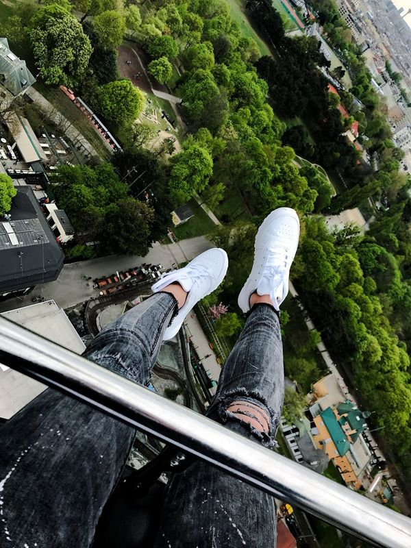Tree Day Theme Park Viena, Austria Prater/Vienna Air Intheair View From Above View Fun White Shoes Shoeselfie Girl Roallercoasters Trees Trees And Sky Human Body Part Legsselfie Happiest Moment Happieness EyeEmNewHere Young Adult Moments Of Life Moments EyeEmNewHere Done That.