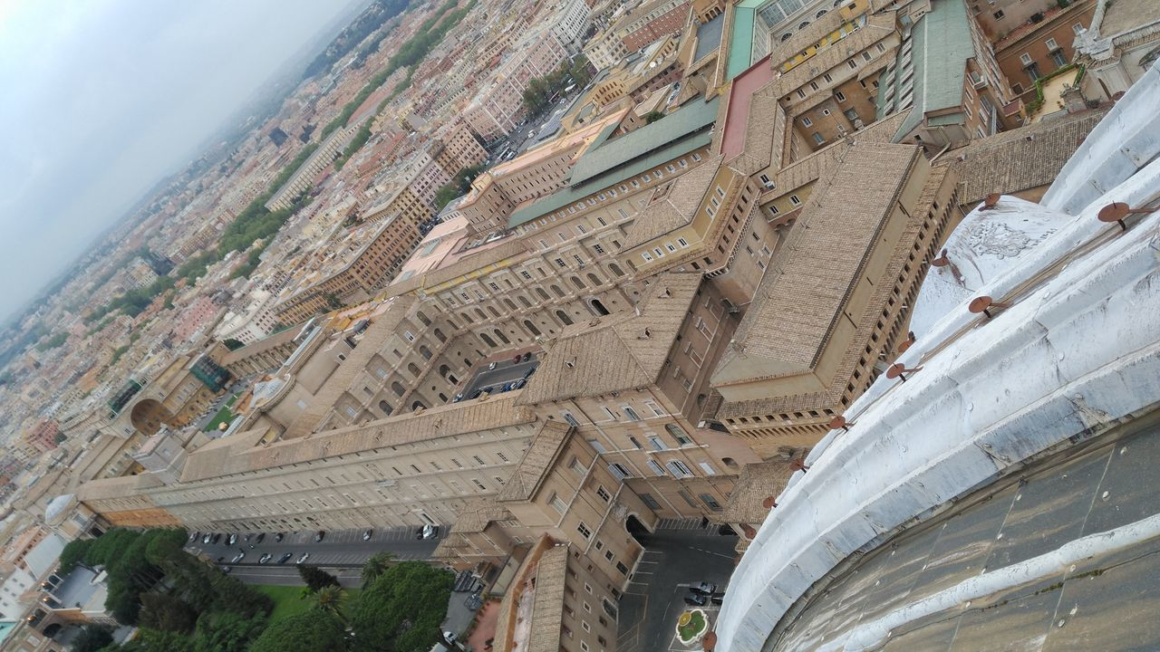 Ciudad Del Vaticano Italia From My Point Of View Altura Desde Las Alturas From The Rooftop From The Highline