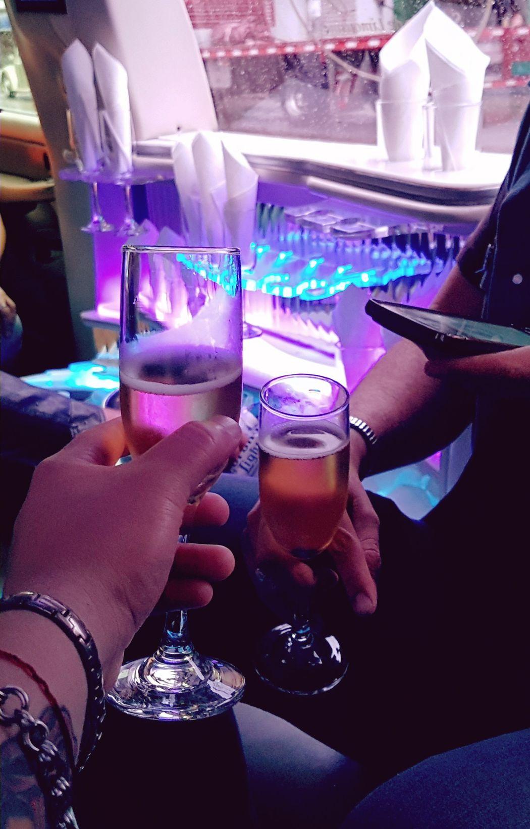 Cheers Cheers 🍻 Glass Wineglass Wineglasses Limousine Limo Rockstar Rockstars Rockstars Around The City Birthday Mexico People Enjoying Life Enjoyment Joy Fiesta Fiesta Limosina Copas Colors Colour Of Life