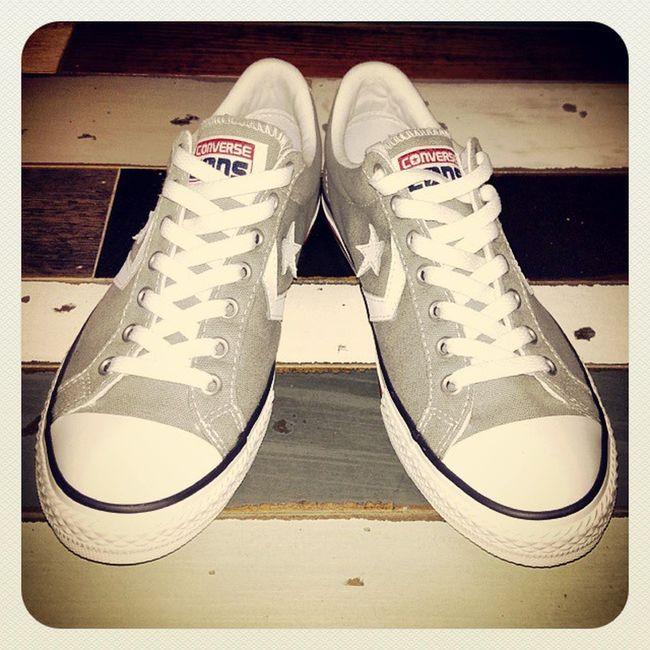 La paire de grises cette fois Converse Converses Conversecons Basket chaussure shoes