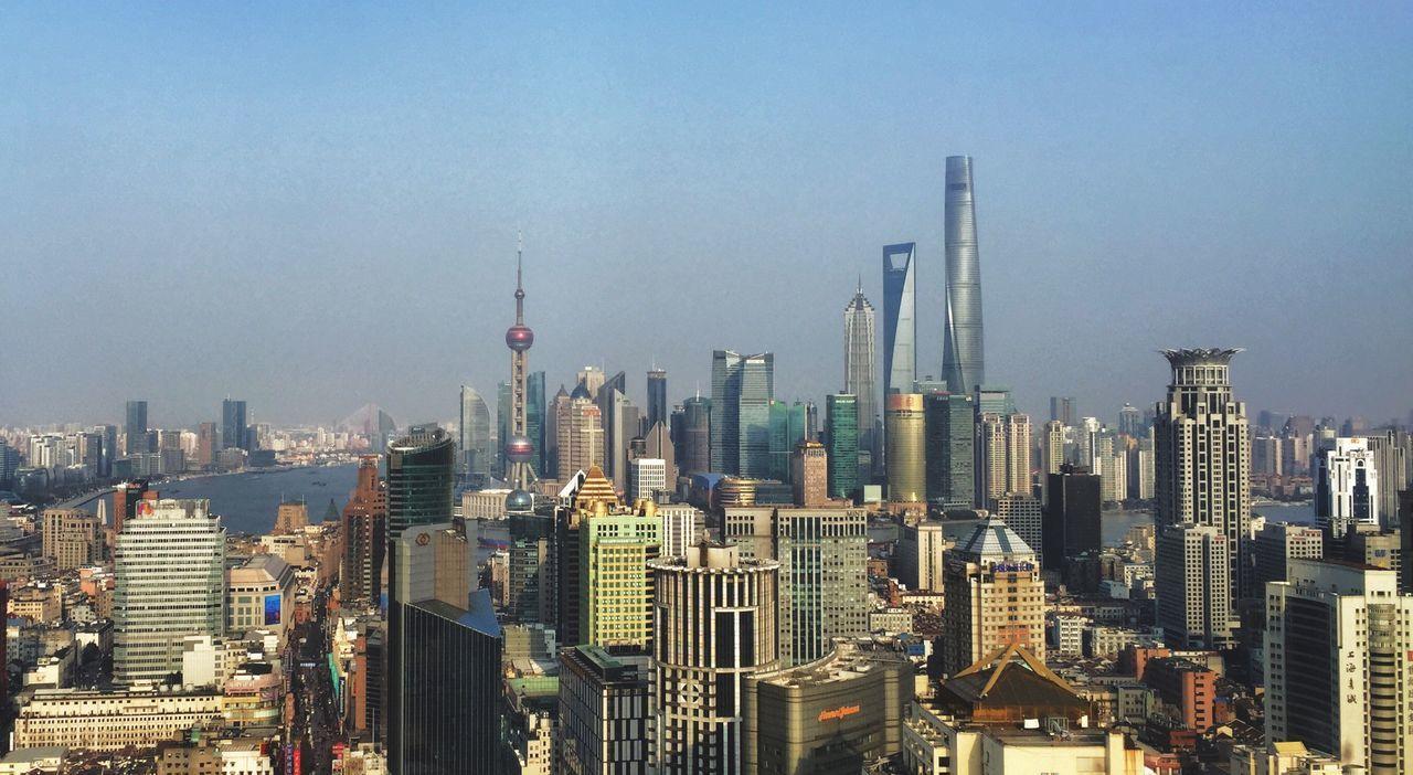 Beautiful stock photos of shanghai, Architecture, Blue, Building Exterior, Built Structure