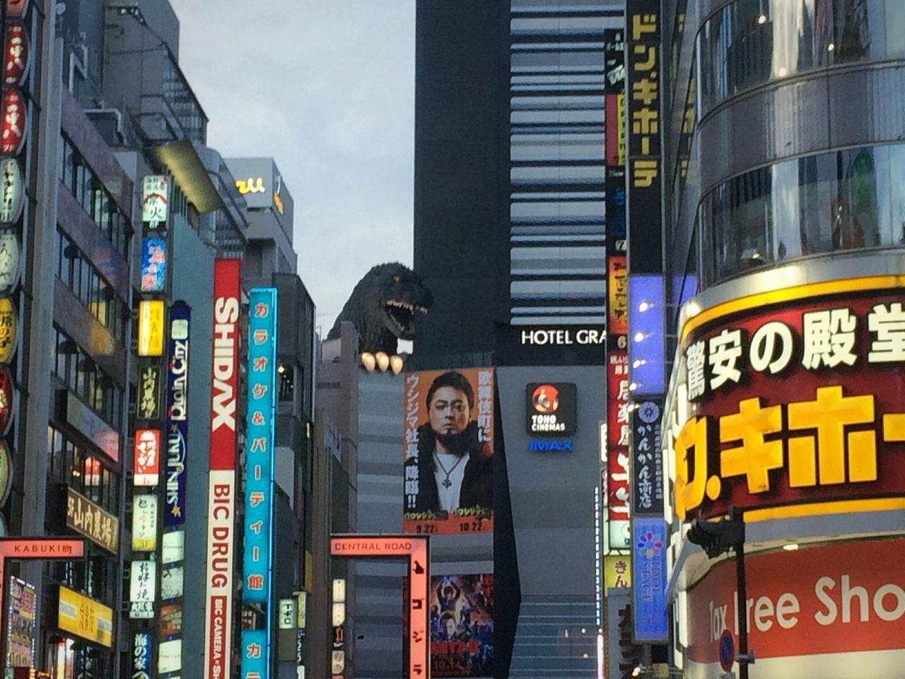 Godzilla in Tokyo First Eyeem Photo