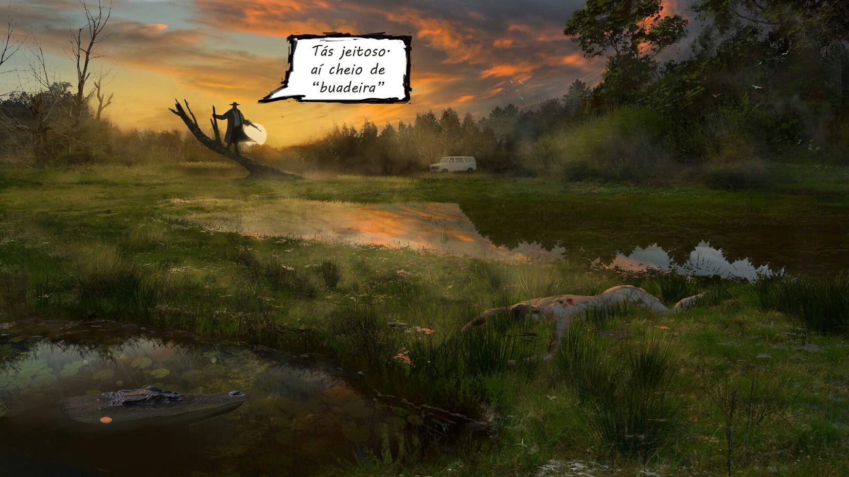 Conceptart Art, Drawing, Creativity Digital Art Illustration Swamp Landscape ArtWork Art Digital Painting