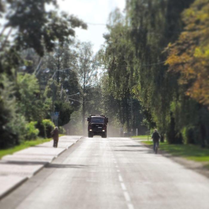 Car Big Car Street