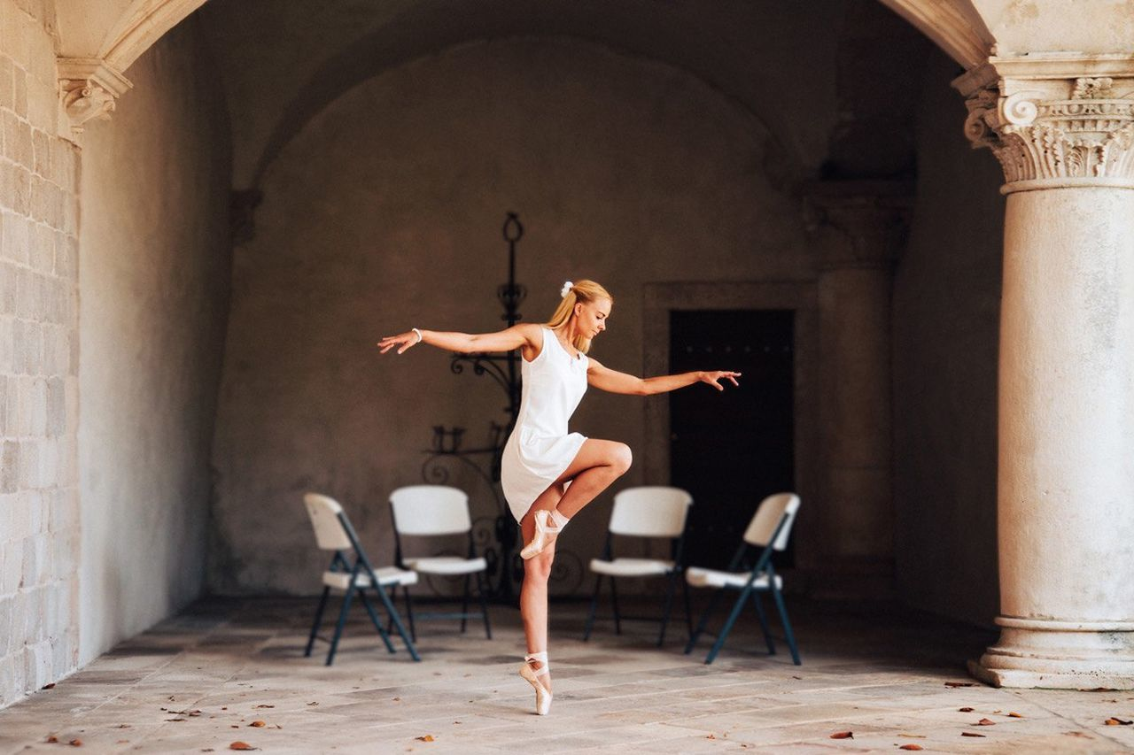 Ballet Balerina Beautiful Woman People Jumping Women Dancing One Person Pointe Shoes Ballet Dancer Ballet Shoes Ballerina