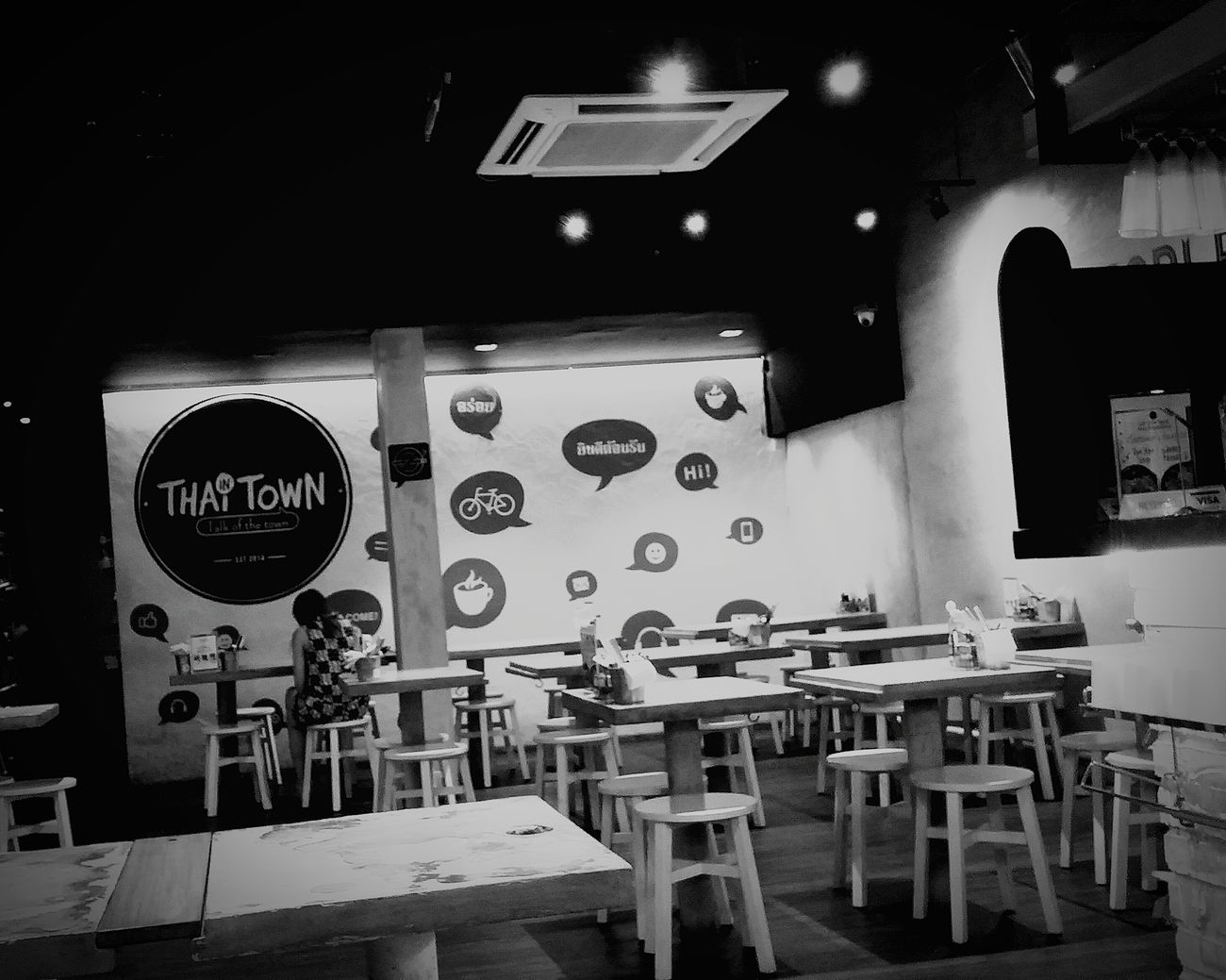 Asian Food Restaurant Thai Restaurant Hot And Spicy Yummy ♥ Cool Design