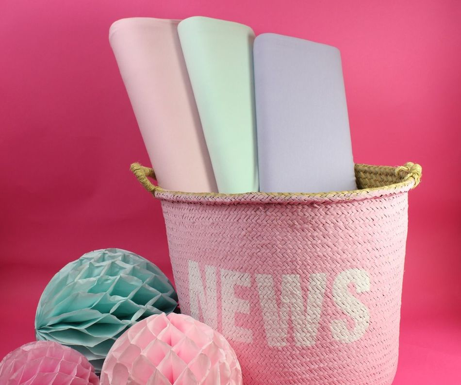 Pink Color Still Life No People Indoors  Close-up Studio Shot Pink Background Day Fabric