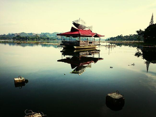 Relaxing Southeast Asia Lake