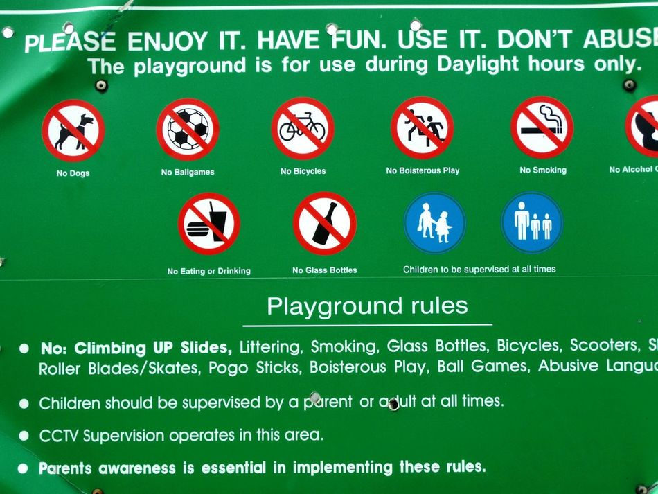Where's the fun! Outdoor Photography Ayeshea Bah EyeEm Gallery Fresh On Eyeem  Fanore, Ireland Playground Signs