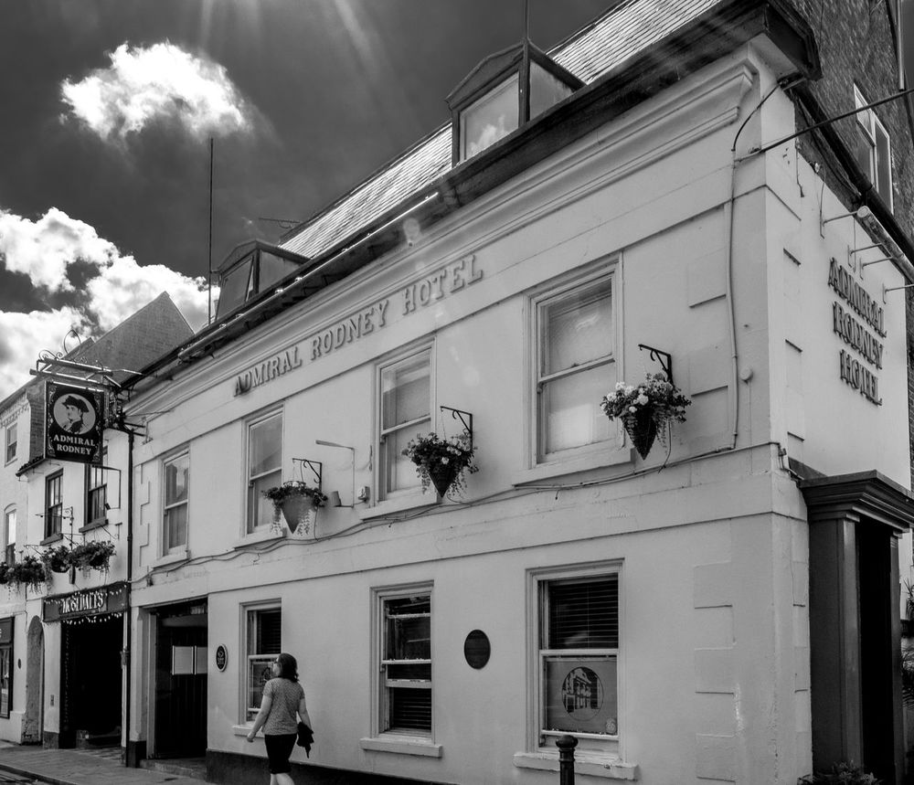The Admiral Rodney Hotel, Southwell, Nottinghamshire Architecture Nottinghamshire FUJIFILM X-T2 Southwell Monochrome Photography Blackandwhite Black And White Architecture Nottingham Pubs Pubs