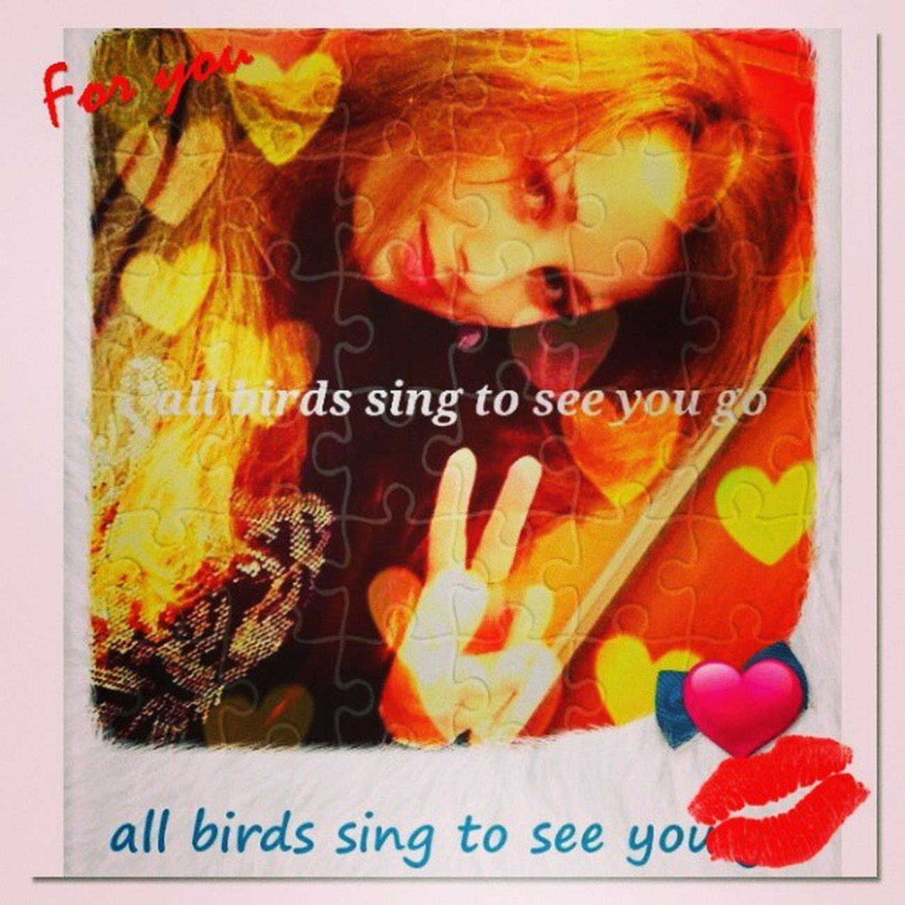 Nika ... all birds sing to see you go