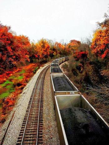 Railroad Track Outdoors Rail Transportation