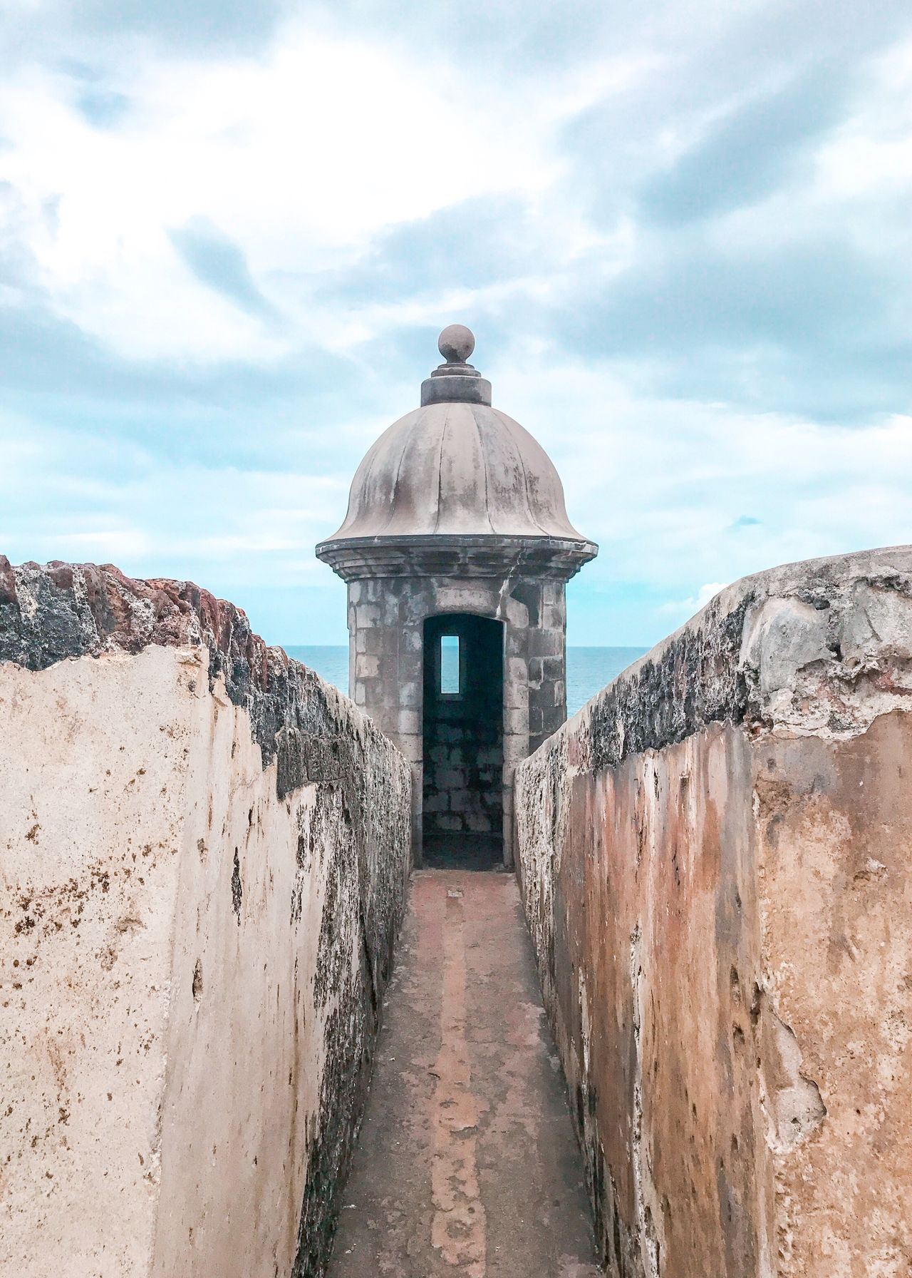 Puerto Rico Architecture Sky Cloud - Sky Built Structure Day Building Exterior Outdoors History The Way Forward Travel Destinations No People Nature Beauty In Nature Scenics Retaining Wall
