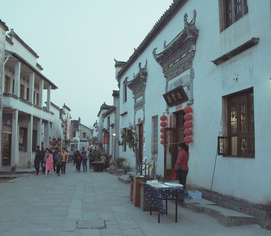 A Village In Chinese Paintings Architecture Beautiful Beautiful Nature China Town China Photos Chinatown Mount Huangshan An Ancient Building Architecture Building Building And Sky Building Exterior Buildings Buildings & Sky Buildings Architecture Built Structure China Day Outdoors Real People Sky