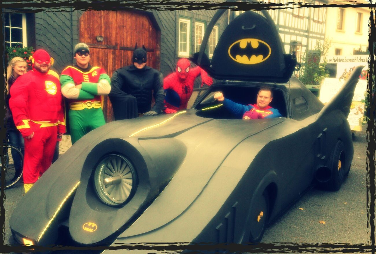 KirmesUmzug breitenholz Superhelden!!! Happiness Batman Superheroes Hello World