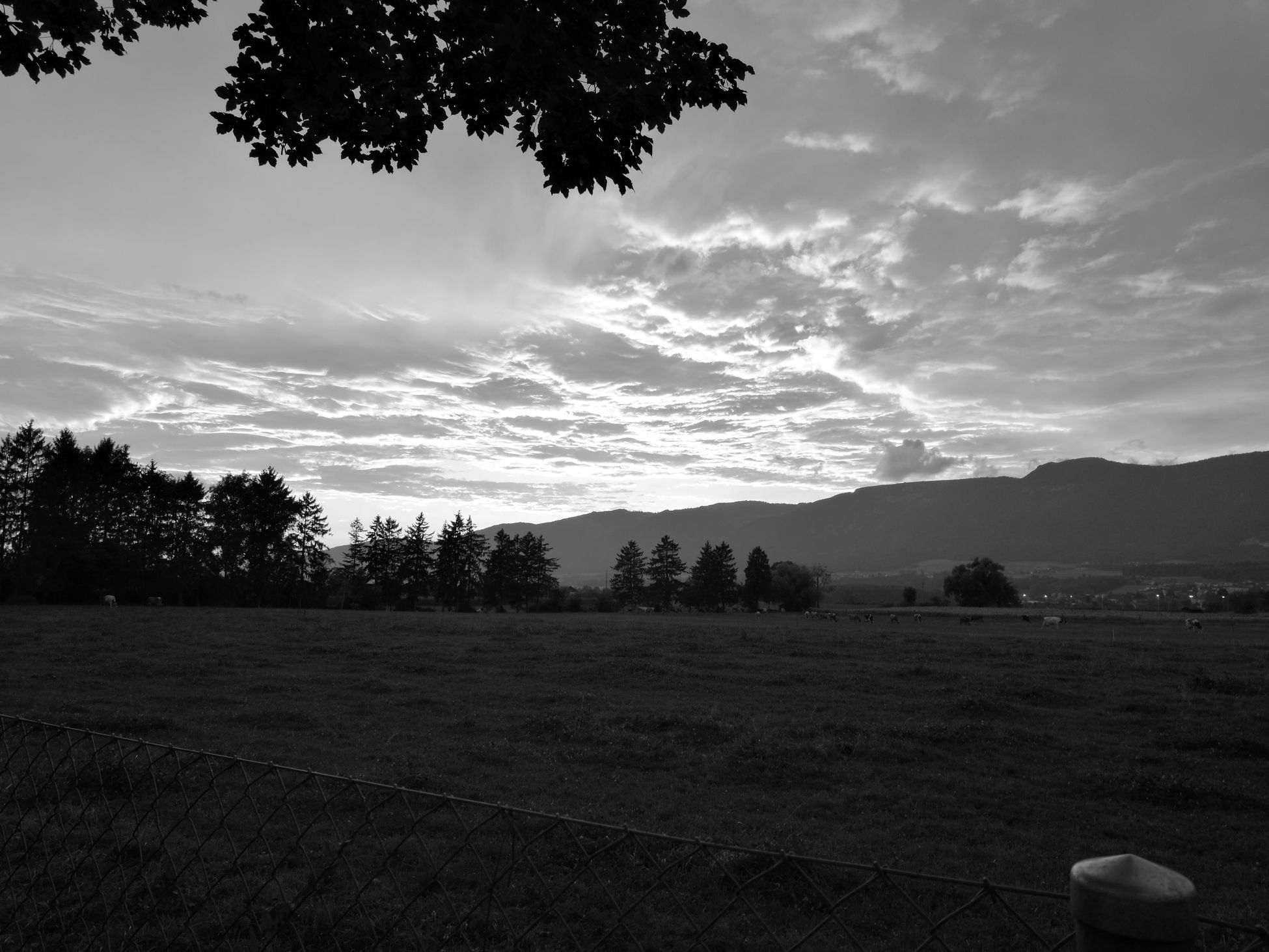Landscape Orginal Picture Sunset Solothun