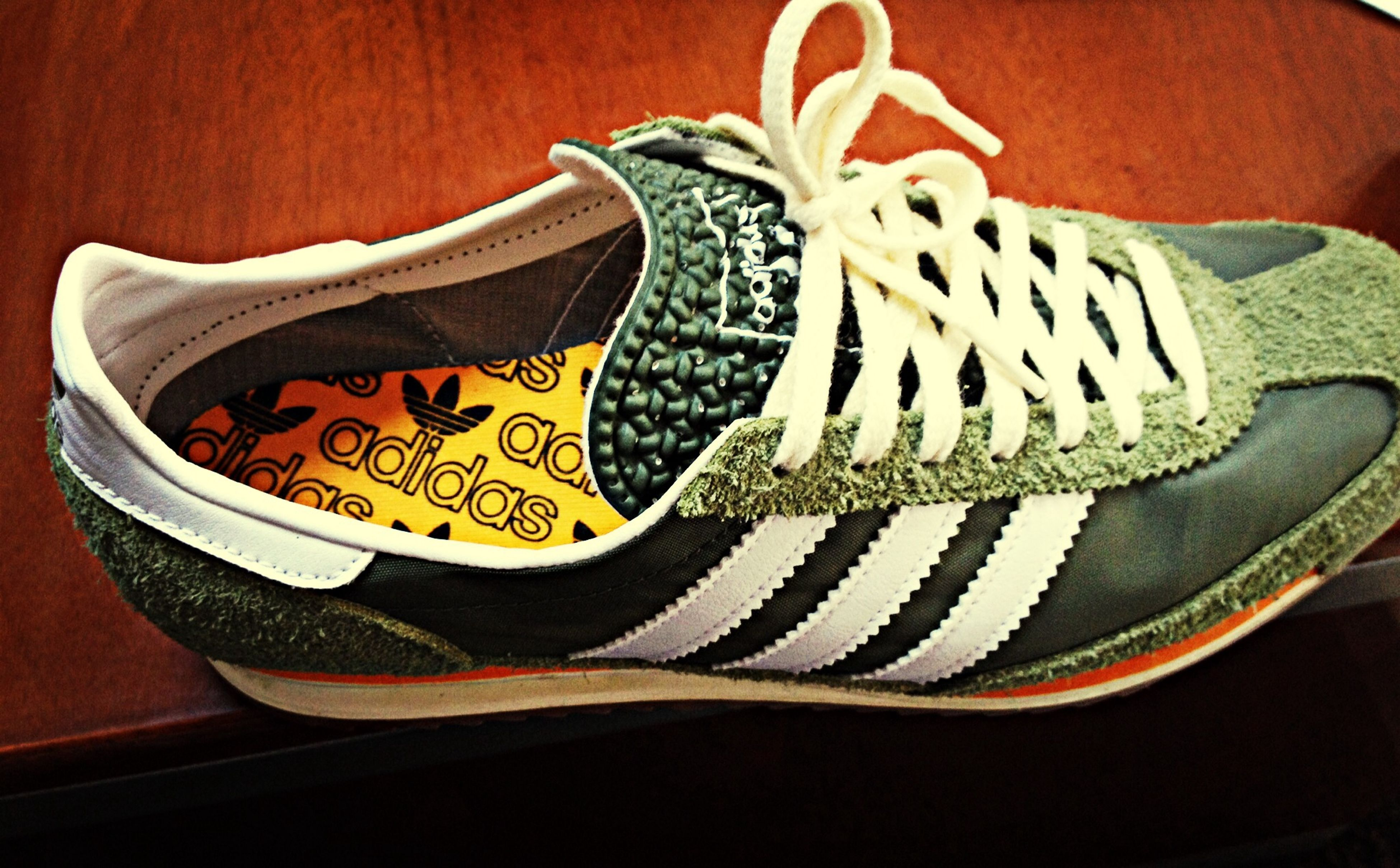 My New Shoess Nice One Green Adiddas