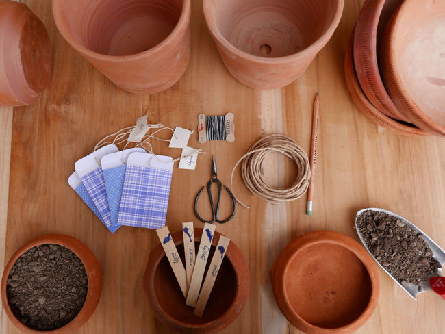 parsley, sage, rosemary and thyme Indian Pottery Gardening Planting Seeds Planting Herbs Taking Photos Hello World