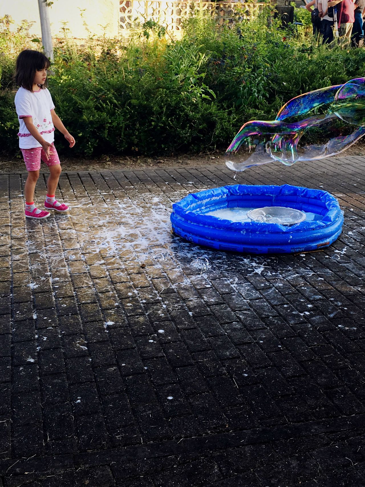 Young girl and a small pool with soap bubble at the street Childhood Outdoors Real People Full Length Day Water Playing One Person People Child Play Playtime Dream Daydream Daydreaming Lovely Bubble Bubbles Small Cool Pool Nice Nice Atmosphere Great View