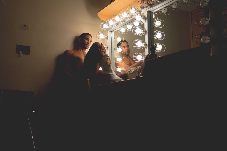 Beautiful stock photos of hollywood, Actor, Candid, Contemplation, Dressing Room