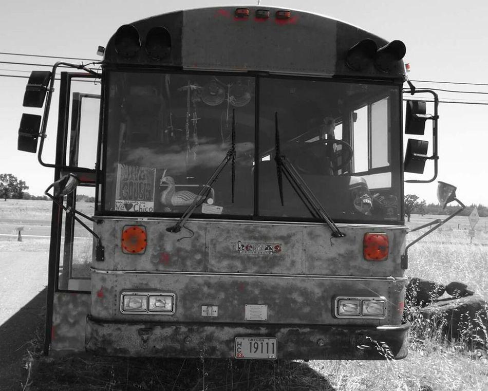Tourbus blues Blues Music Album Cover Art Tourbus Mechanical Transportation Mode Of Transport Car Sky Empty Desolate Musicians